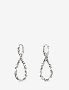 Delia - pendant - silver plated