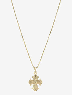 Necklace Dagmar - kettingen met hanger - gold plated