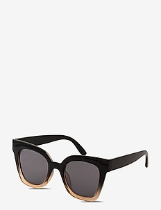 Sunglasses Ellera - rechthoekig model - black