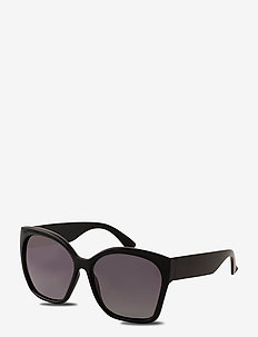 Sunglasses Doria - rechthoekig model - black
