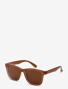 Sunglasses Nova - firkantet stel - brown