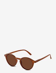 Sunglasses Roxanne - round frame - brown