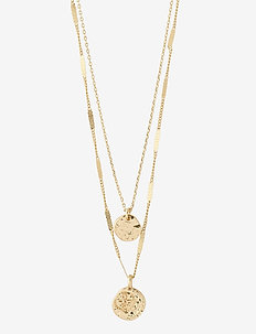 Necklace : Online Exclusive Haven : Gold Plated - kettingen met hanger - gold plated
