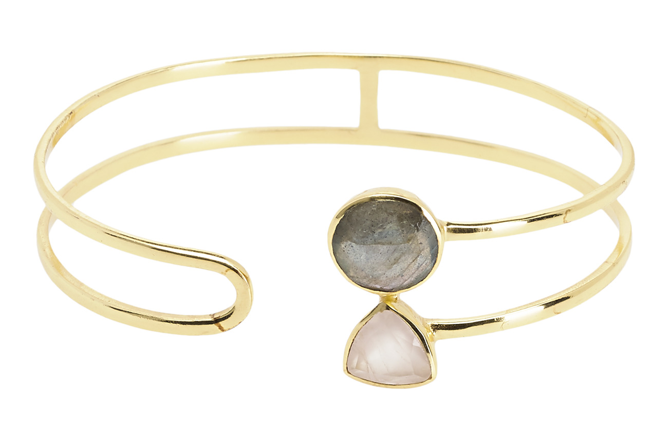 PIPOL'S BAZAAR Linda Bangle GreyPink - PINK/GREY