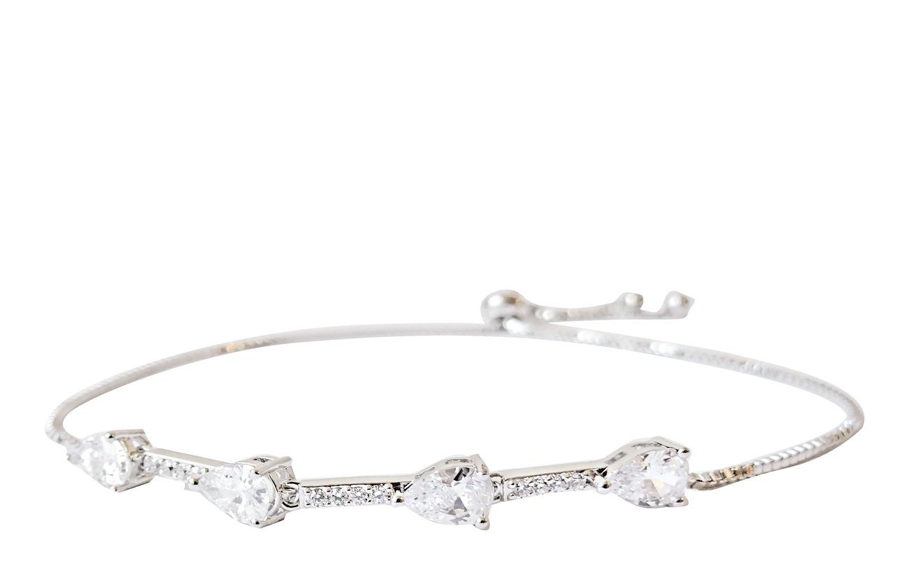 PIPOL'S BAZAAR Kylie String PIPOL Bracelet Silvery Clear - SILVER