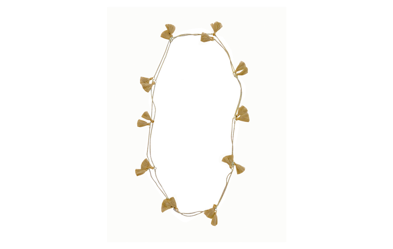 PIPOL'S BAZAAR Trippia Tassel Pipols Long Necklace - GOLD