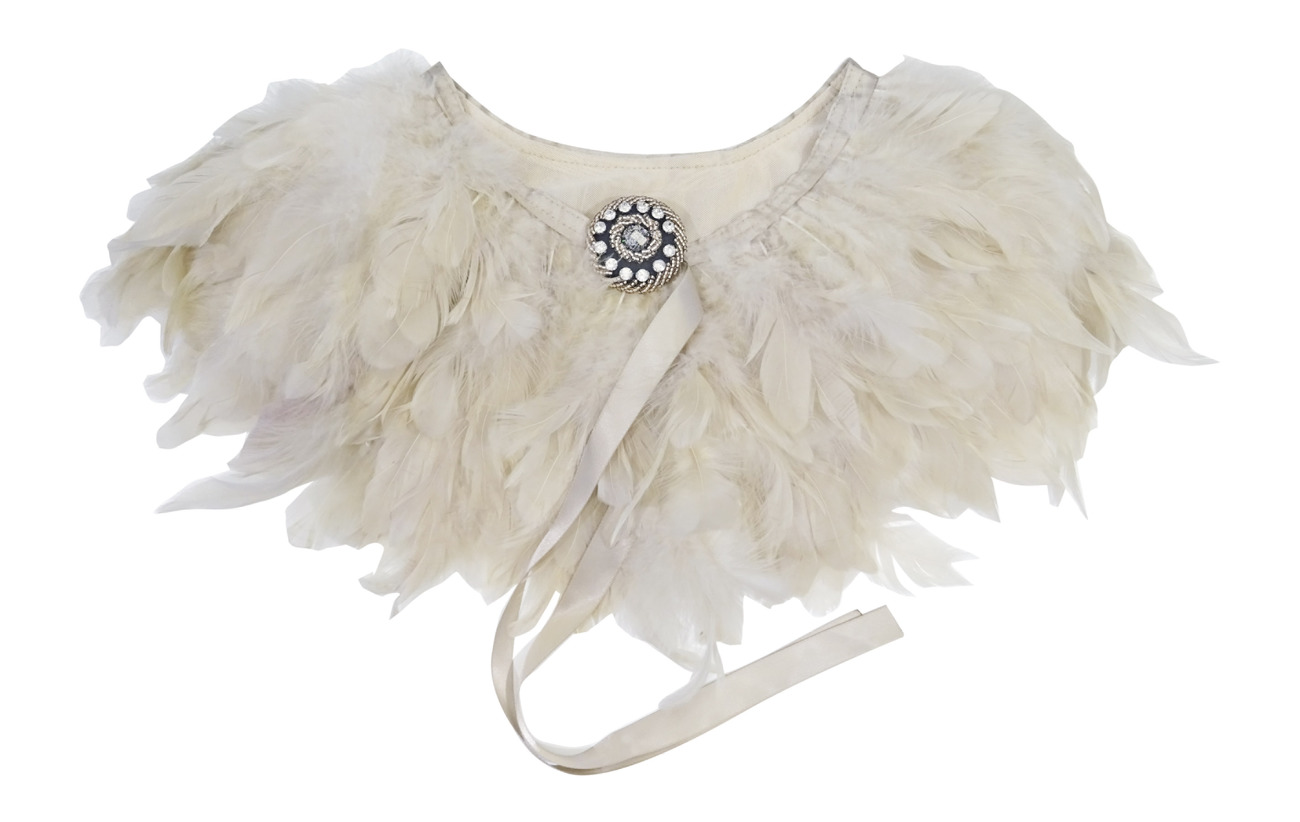 PIPOL'S BAZAAR Majestic Feather Pipols Collar - NATURE