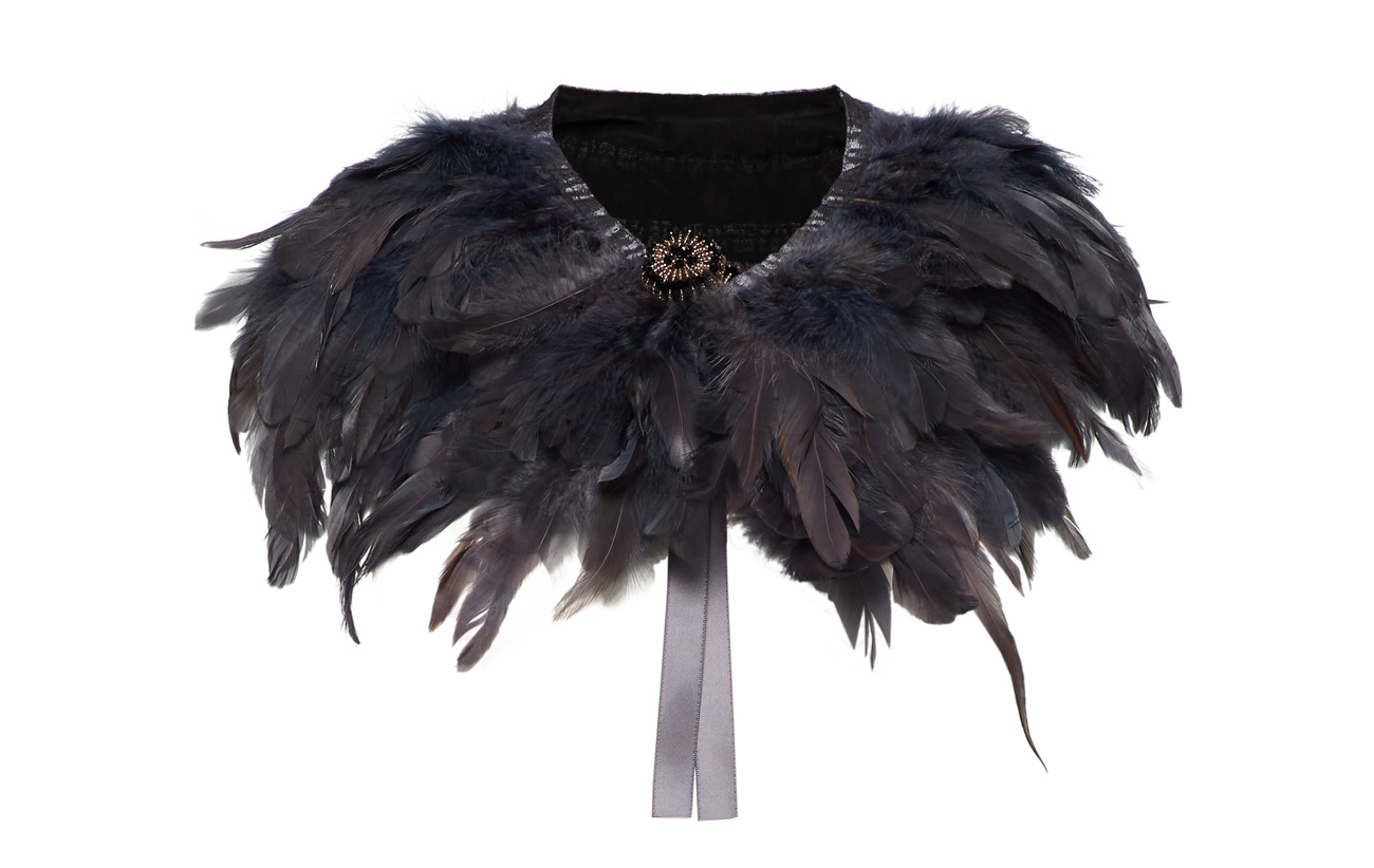 PIPOL'S BAZAAR Majestic Feather Pipols Collar - BLUE