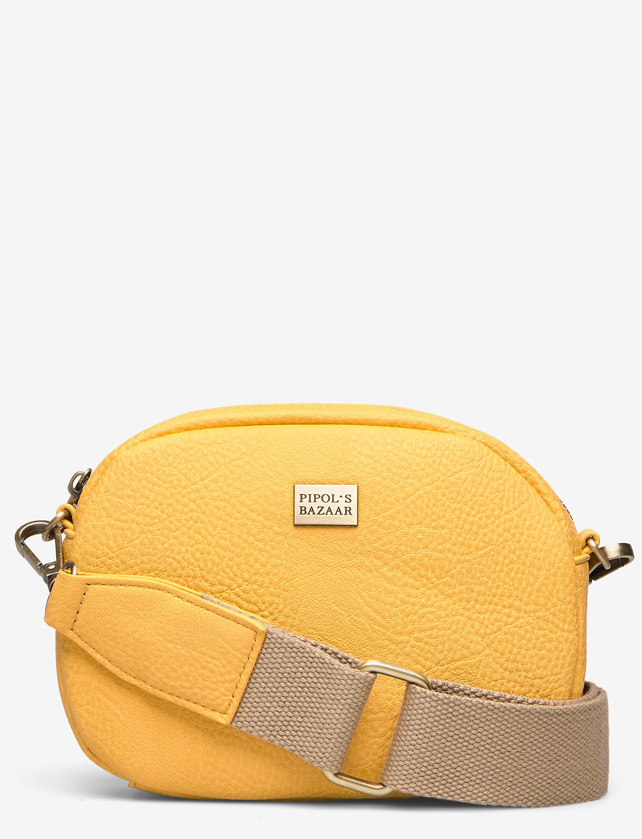 PIPOL'S BAZAAR - Solar Mini Cross PIPOL Bag Yellow - shoulder bags - yellow