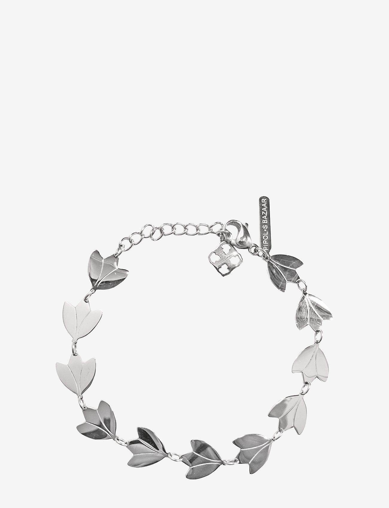 PIPOL'S BAZAAR - Zio PIPOL Bracelet Silver - dainty - silver - 0