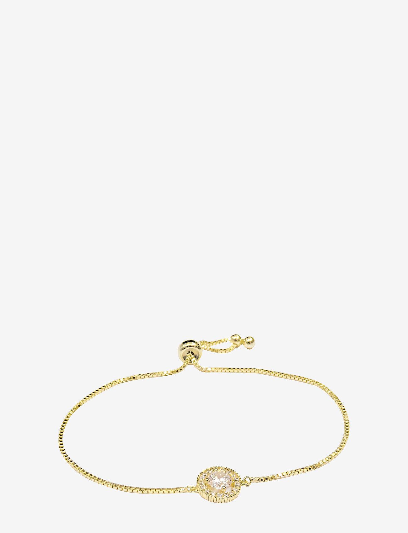 PIPOL'S BAZAAR - Estrade PIPOL Bracelet Golden Clear - dainty - gold