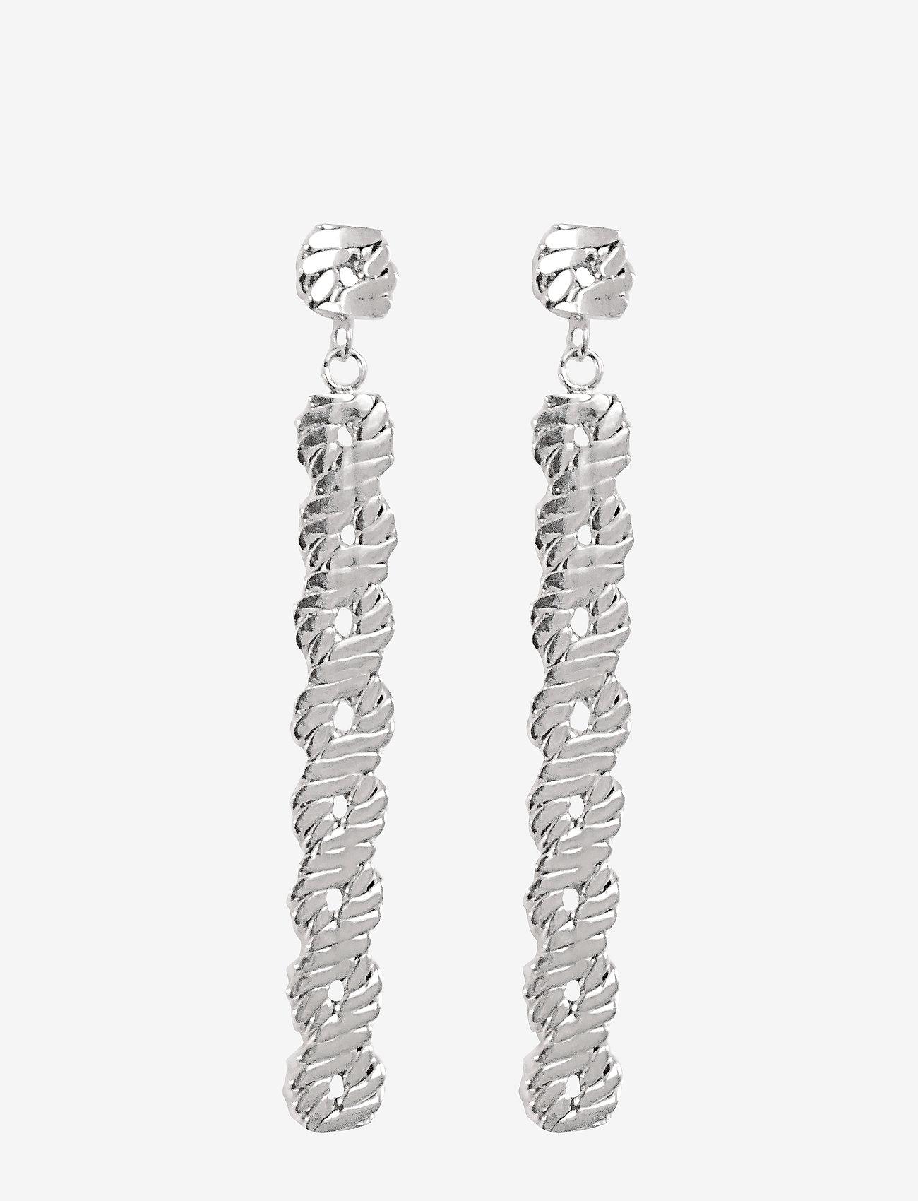 PIPOL'S BAZAAR - Link Long PIPOL Ear Silver - statement - silver
