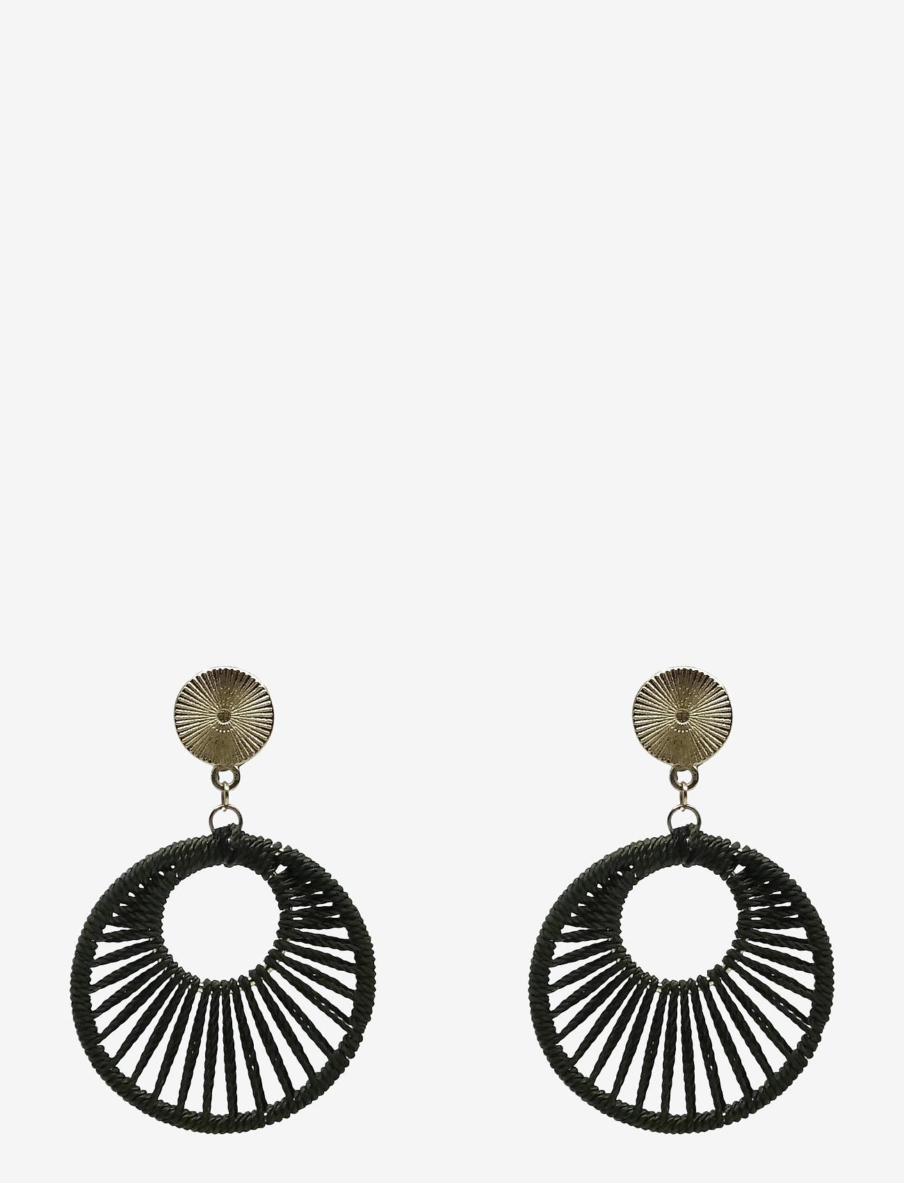 PIPOL'S BAZAAR - Giro Ear Green - statement earrings - green - 0