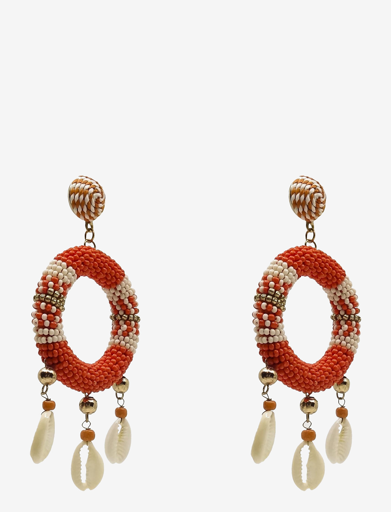 PIPOL'S BAZAAR - Rica Earring Corall - statement earrings - red - 0