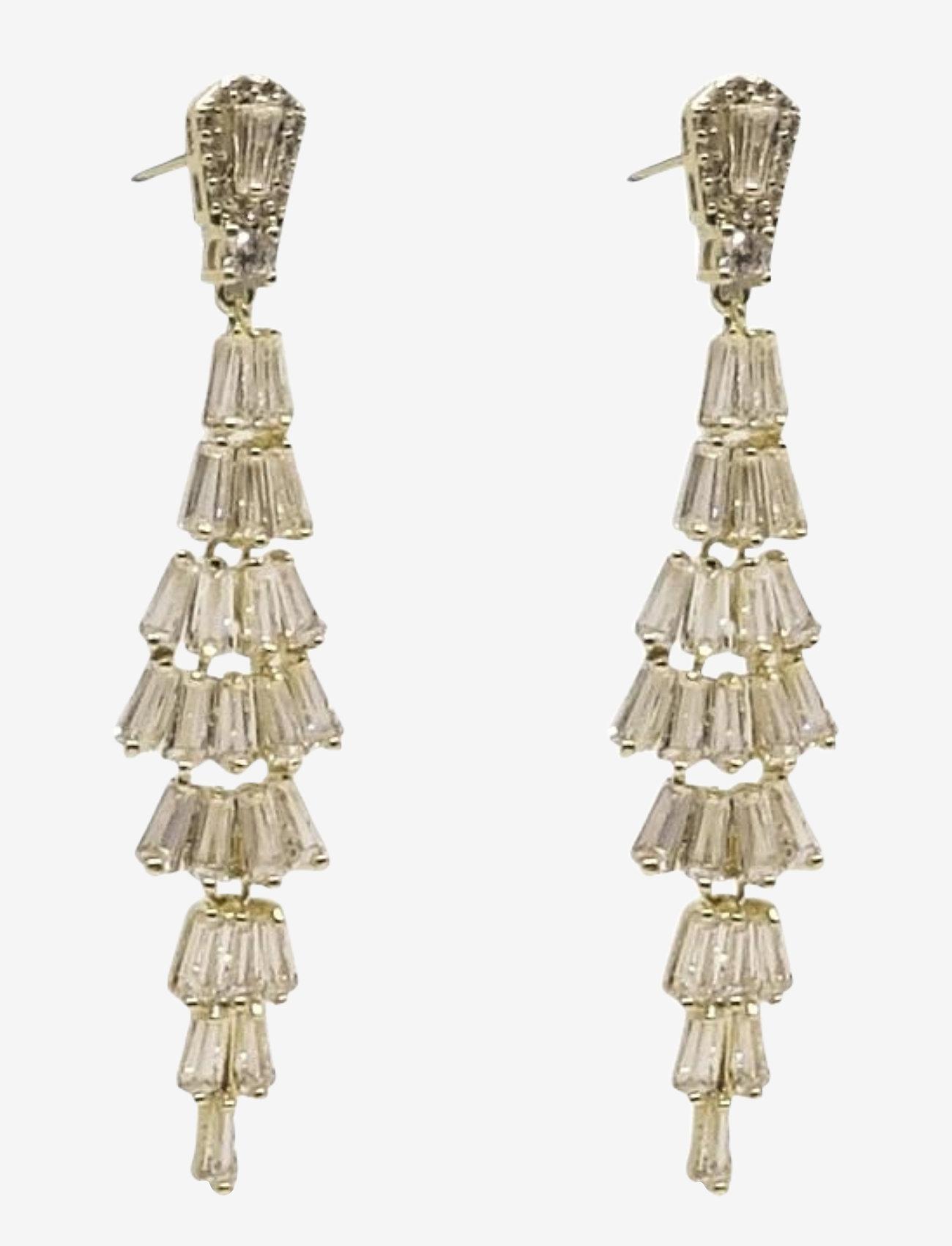 PIPOL'S BAZAAR - Festival Ear Golden Clear - statement earrings - gold - 0