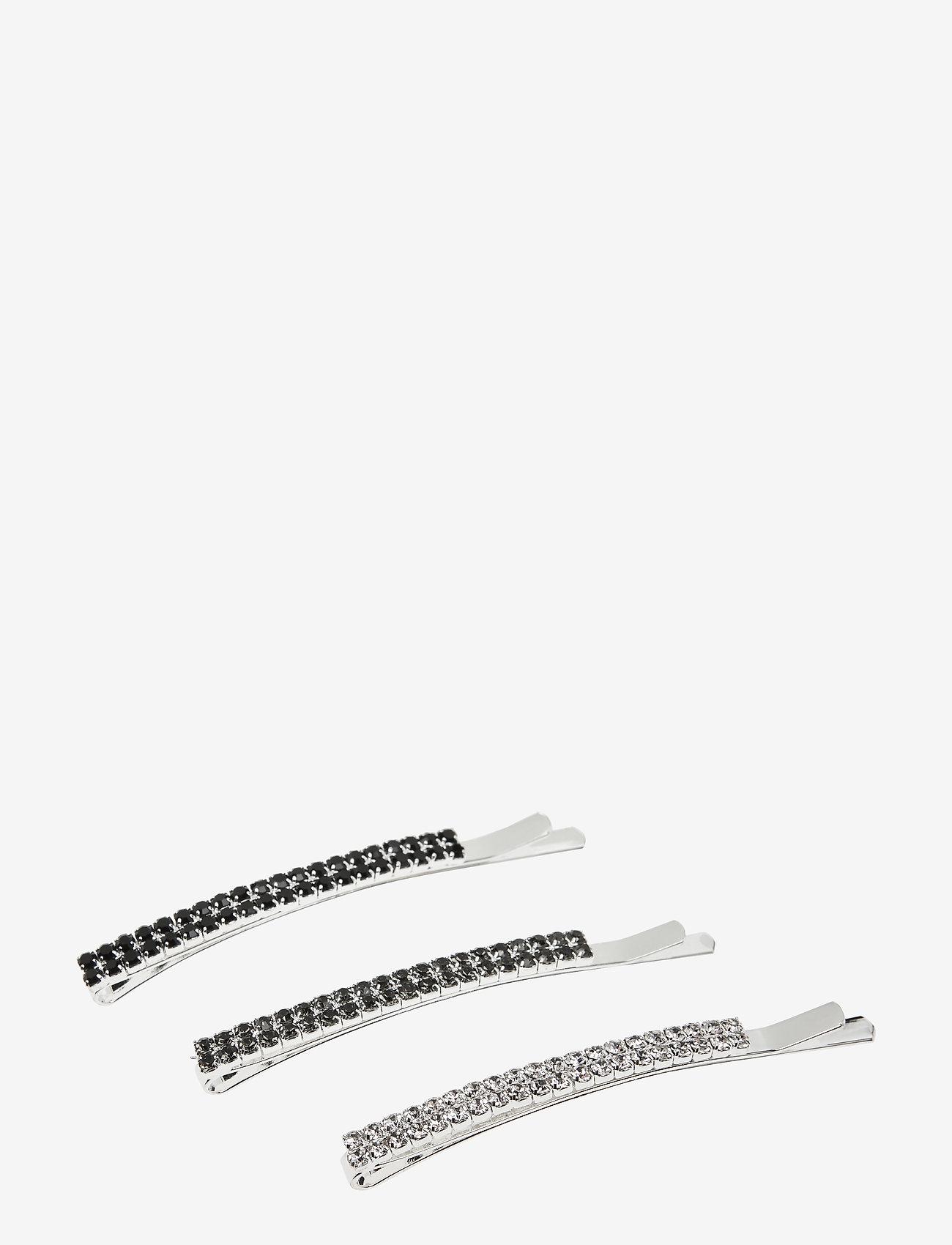 PIPOL'S BAZAAR - Sia Hair Clip set Black - haar accessoires - black - 0