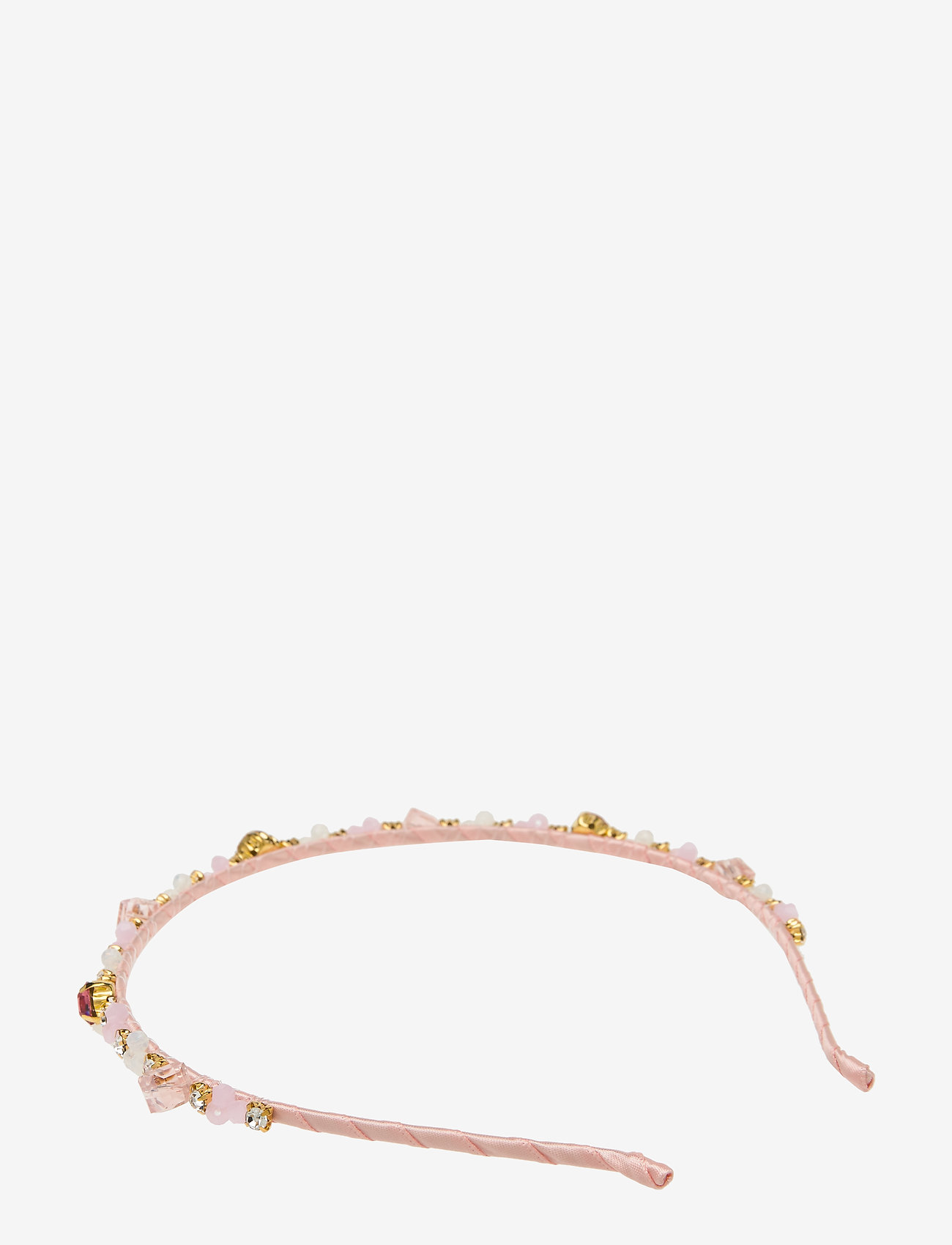 PIPOL'S BAZAAR - Missy Embroidered PIPOL Diadema Pink - hair accessories - pink