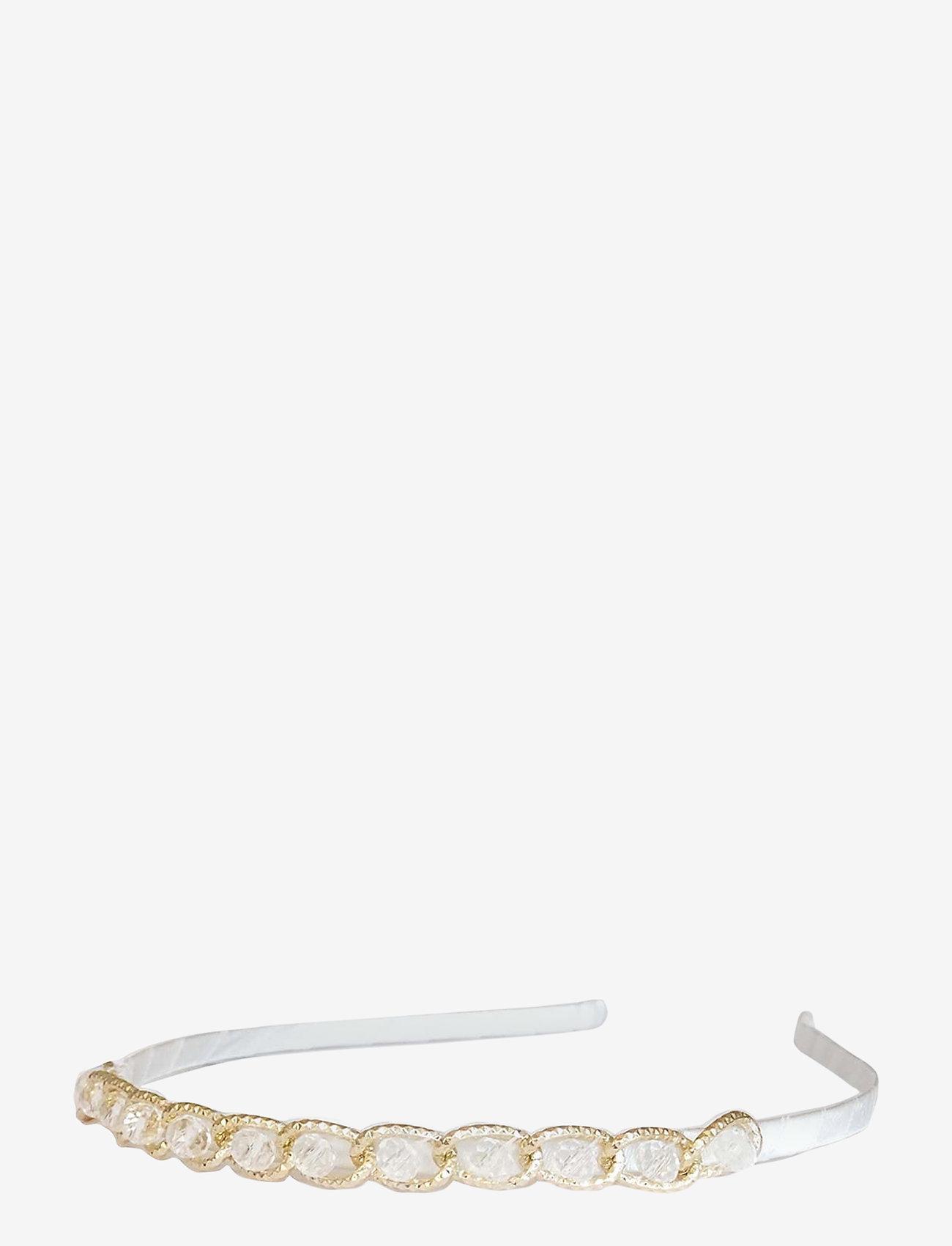 PIPOL'S BAZAAR - Sissi Diadema Crystal Gold - haar accessoires - gold - 0
