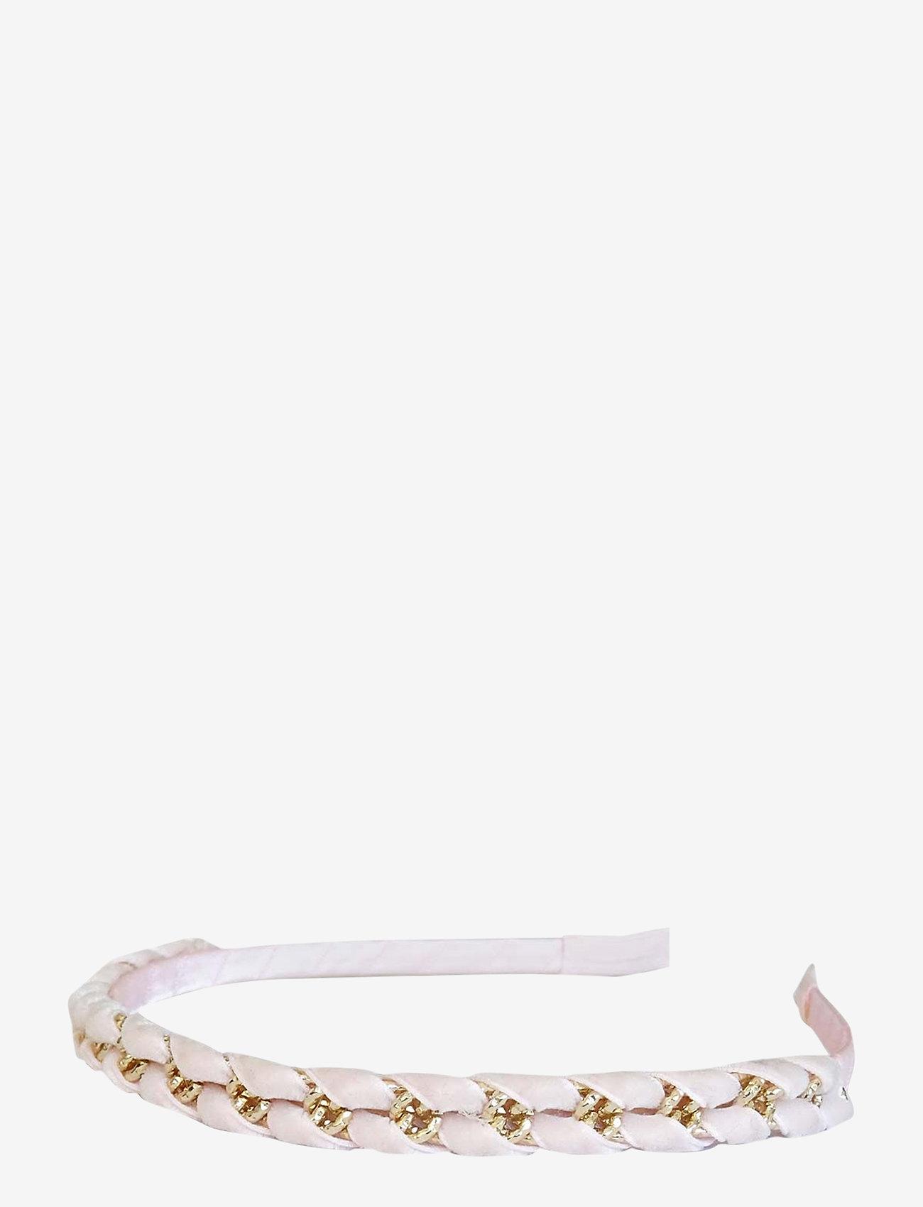 PIPOL'S BAZAAR - Palmina Diadema Velvet - haar accessoires - pink - 0