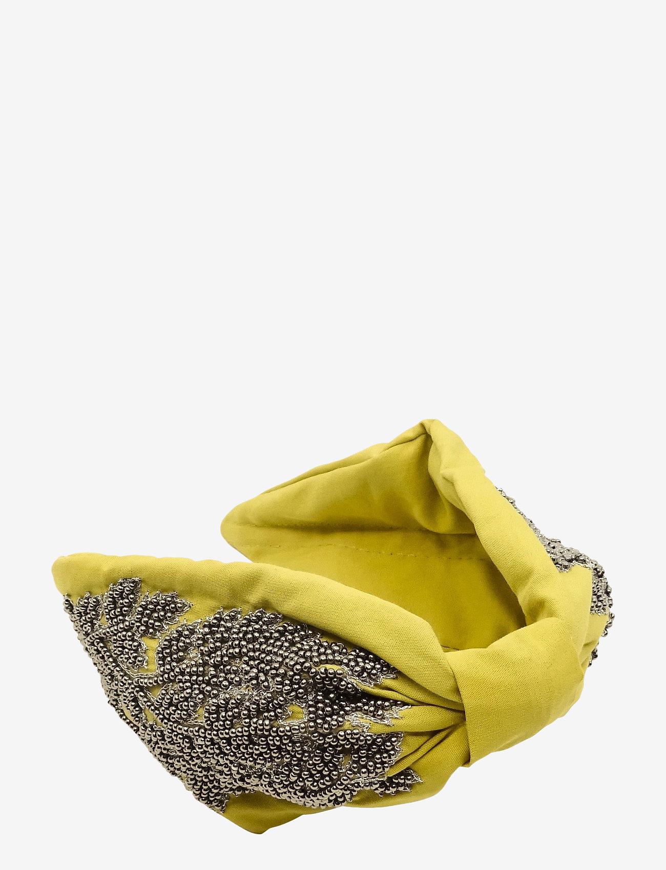 PIPOL'S BAZAAR - Sikri Diadema Yellow - haar accessoires - yellow - 0