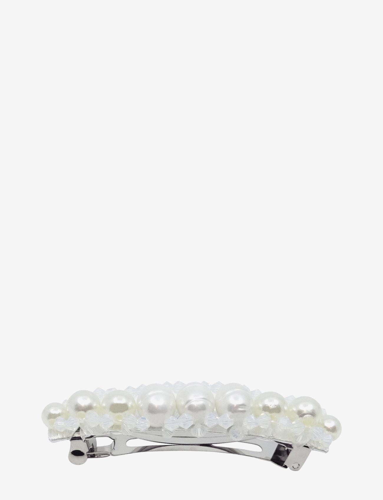 PIPOL'S BAZAAR - Queen Barrette Clip Pearl - haar accessoires - white - 1