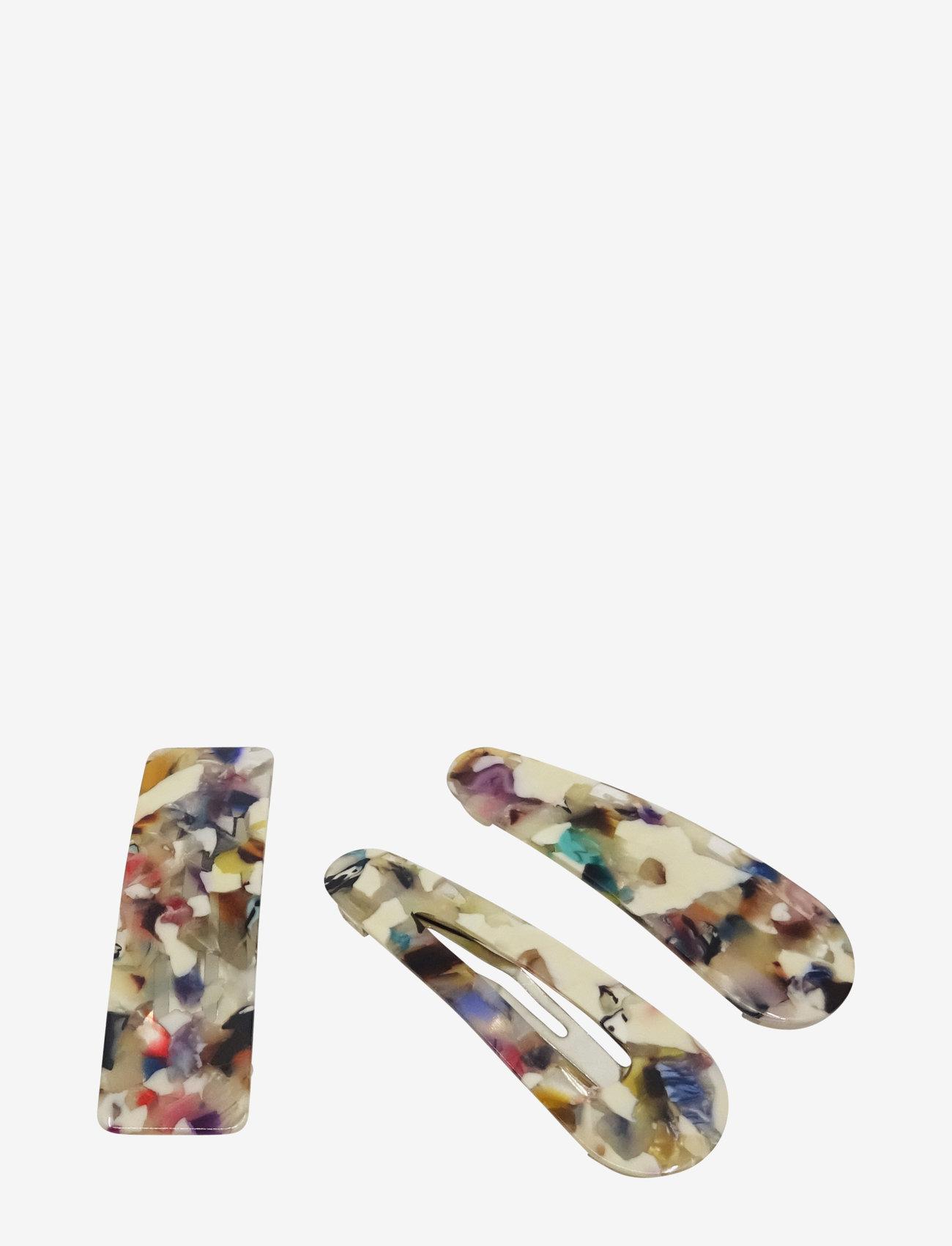 PIPOL'S BAZAAR - Bamba Clip 3 pcs Arty - haar accessoires - multi - 0
