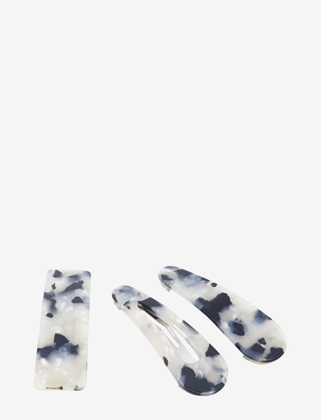 PIPOL'S BAZAAR - Bamba Clip 3 pcs Licorish - haar accessoires - black - 0