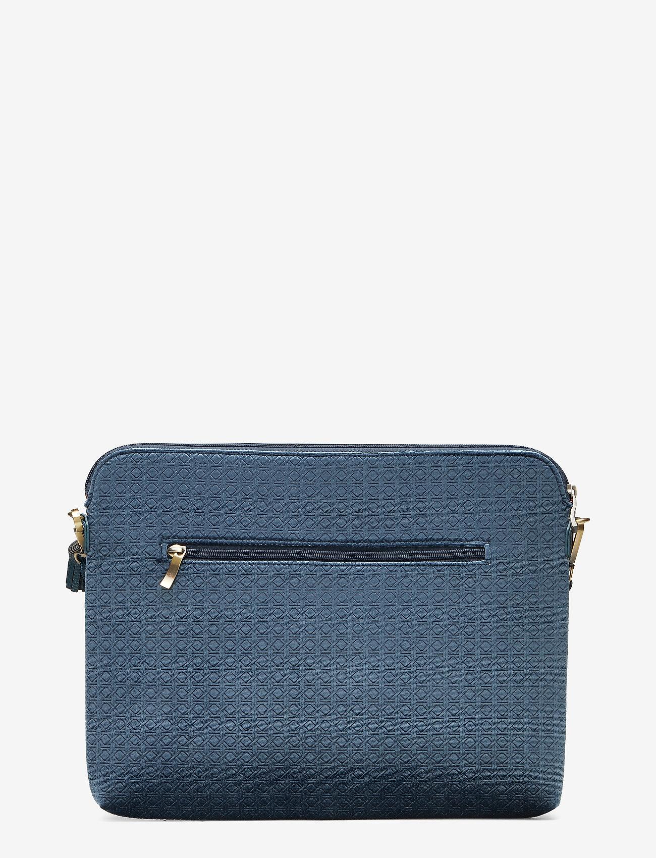 PIPOL'S BAZAAR - Velvet Laptop Cover - laptoptassen - blue - 1