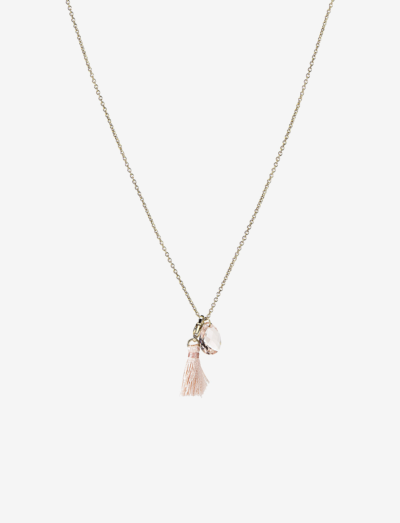 PIPOL'S BAZAAR Winnie Necklace Goldypink Champ - Biżuteria CHAMP - Akcesoria