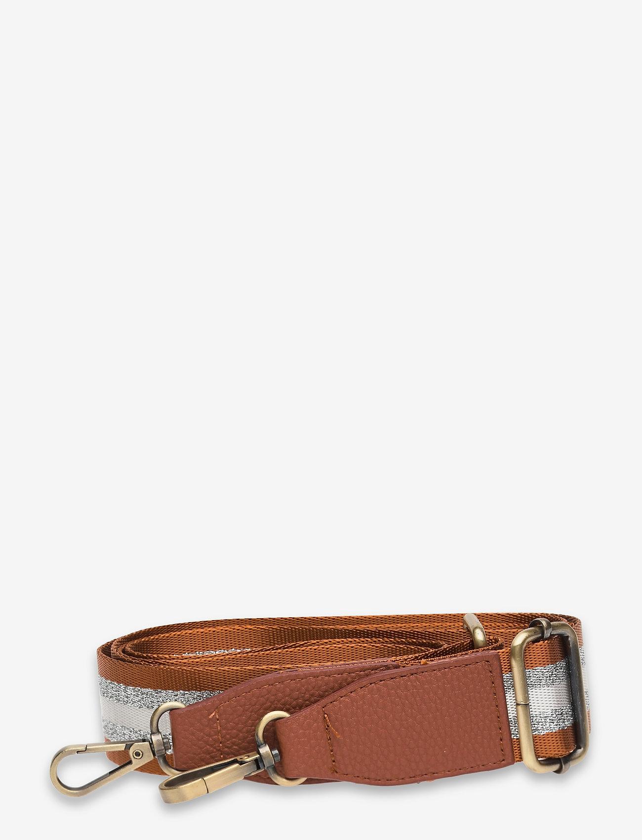 PIPOL'S BAZAAR - Strap Striped Rusty Brown Silver - axelremmar - multi - 0