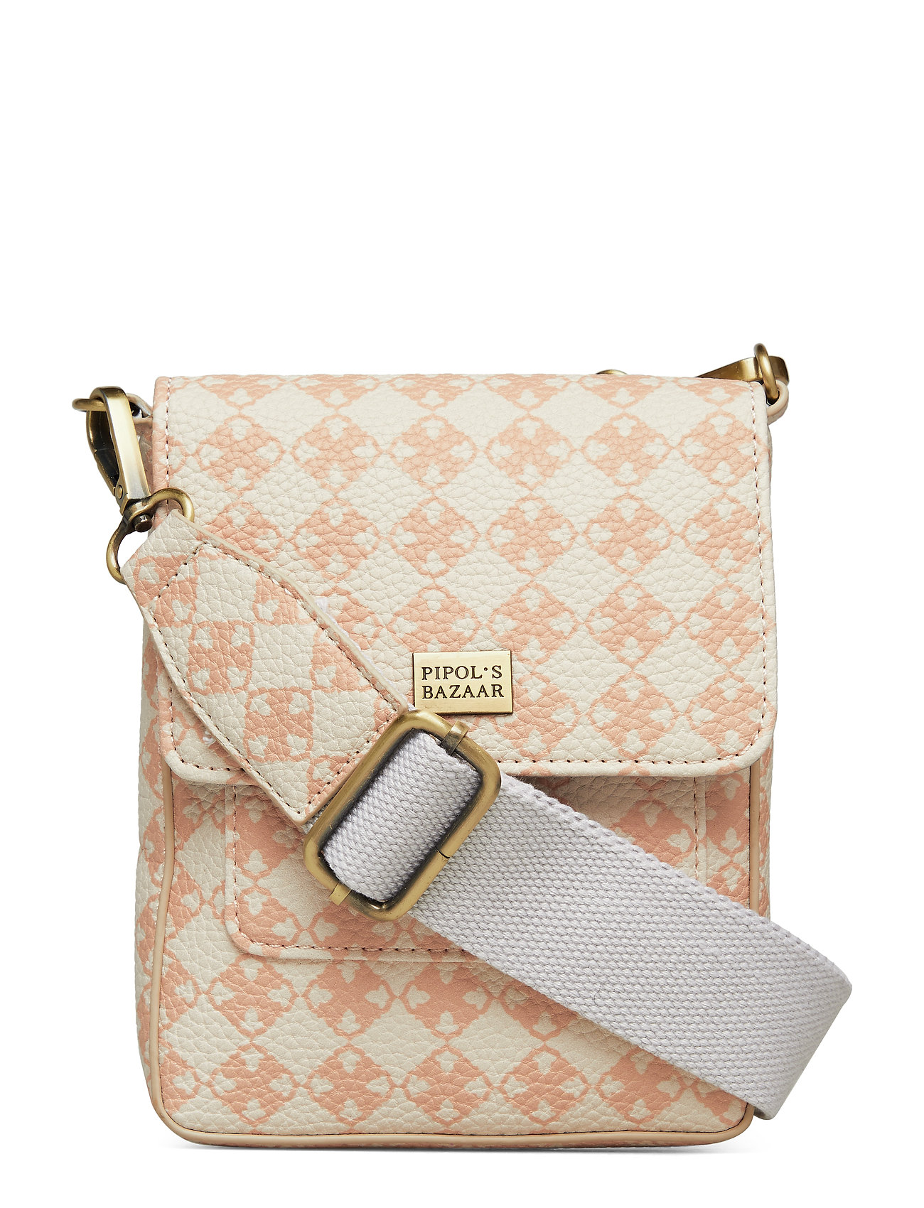 Image of Stile Pipols Saddle Cross Bag Logo Bags Small Shoulder Bags/crossbody Bags Lyserød PIPOL'S BAZAAR (3192763991)