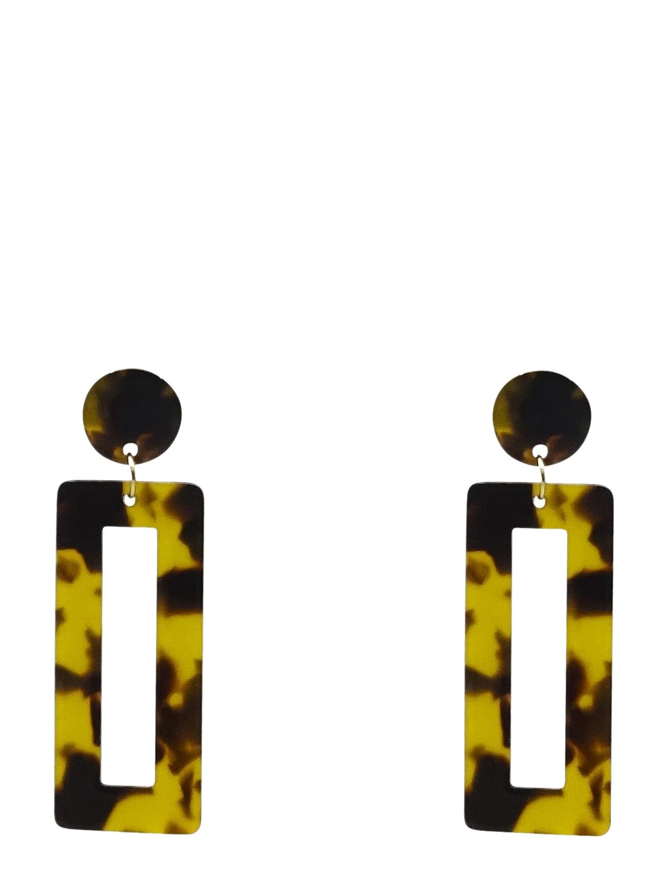 Image of Raid Ear Marble Brown Ørestickere Smykker Brun PIPOL'S BAZAAR (3486072627)