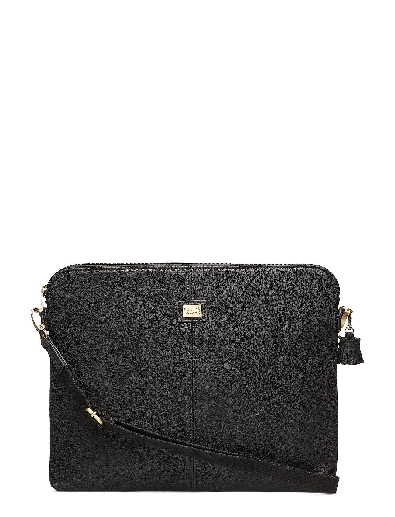 "PIPOL'S BAZAAR Leather Pipol´s Laptop Cover 13"" - BLACK"