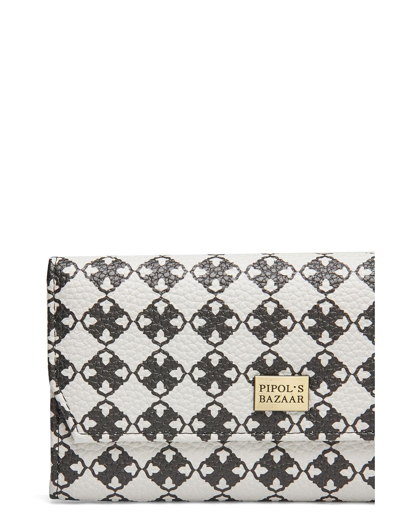 Bazaar Foldable Stile Pipols Logoblackamp; Wallet WhitePipol's PiZuXk