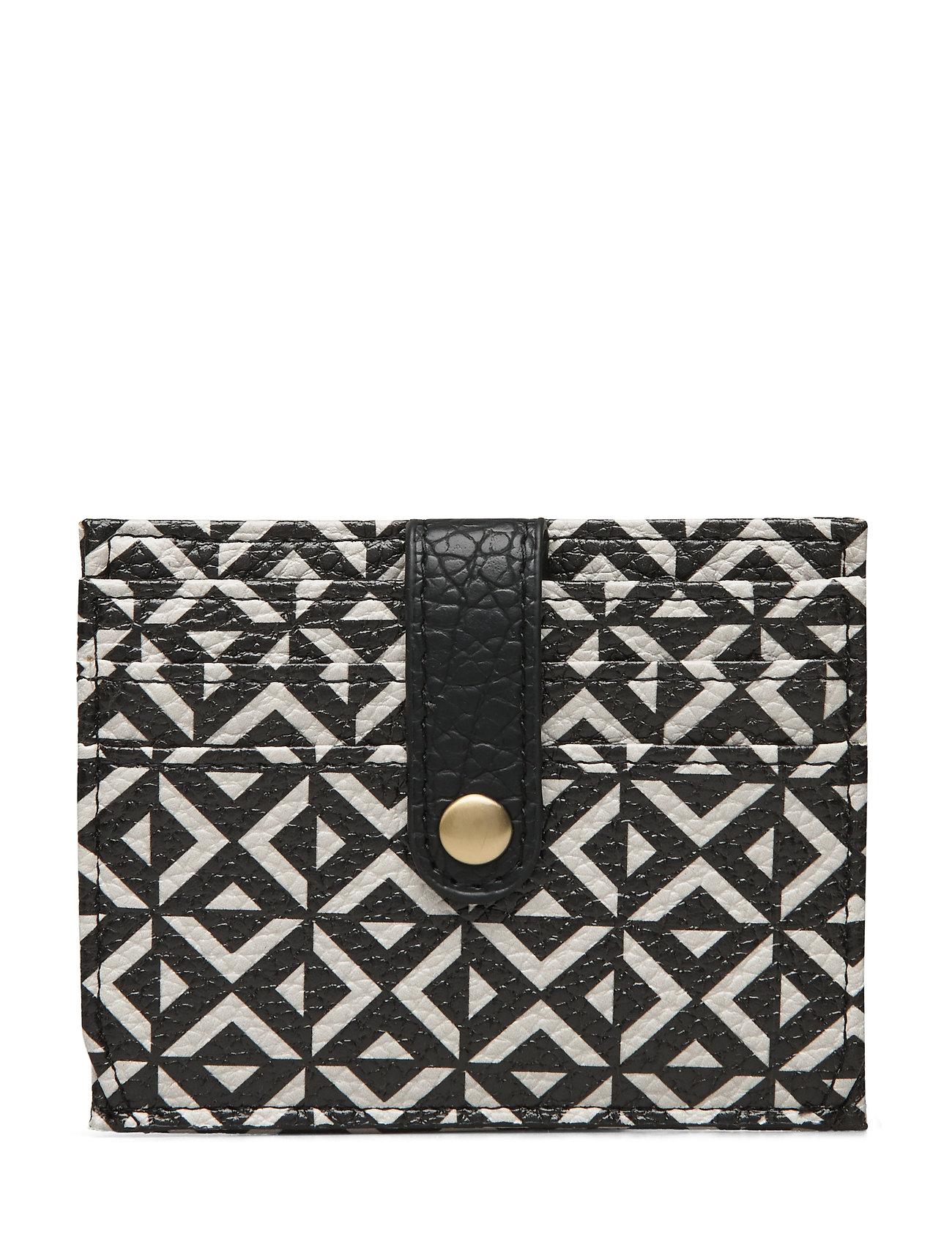 Image of Stile Card Pipol Holder Square B&W Bags Card Holders & Wallets Card Holder Sort PIPOL'S BAZAAR (3309259861)