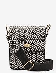 PIPOL'S BAZAAR - Stile Saddle Cross PIPOL Bag Square B&W - shoulder bags - multi - 0