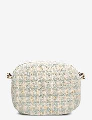 PIPOL'S BAZAAR - Solar Mini Cross PIPOL Bag Bouclé Turq - shoulder bags - green - 2