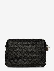 PIPOL'S BAZAAR - Velvet Logo Cosmetic Pipol´s Medium - torby kosmetyczne - black - 1