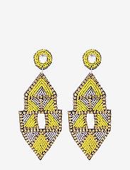 PIPOL'S BAZAAR - Inka Big PIPOL Ear Yellow - pendant - yellow - 0