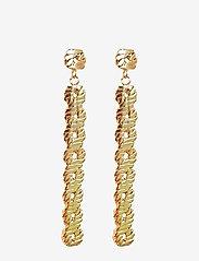 PIPOL'S BAZAAR - Link Long PIPOL Ear Gold - pendant - gold - 0