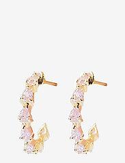 PIPOL'S BAZAAR - Rollo Mini PIPOL Ear Pink - hoops - pink - 0