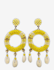 PIPOL'S BAZAAR - Rica Earring Yellow - statement earrings - yellow - 0