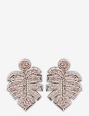 PIPOL'S BAZAAR - Leafer Earring Pale Pink - oorhangers - pink - 0