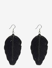 PIPOL'S BAZAAR - Fogli Ear Black - statement earrings - black - 0