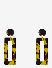 PIPOL'S BAZAAR - Raid Ear Marble Brown - statement earrings - brown - 0