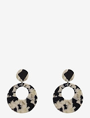 PIPOL'S BAZAAR - Havanna Ear Marble BW - statement earrings - multi - 0