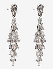 PIPOL'S BAZAAR - Festival Ear Silvery Clear - statement earrings - silver - 0