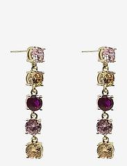 PIPOL'S BAZAAR - Stringin Ear Romance Mix - statement earrings - multi - 0