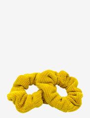 PIPOL'S BAZAAR - Cordy Scrunchy 2 pcs Yellow - haar accessoires - yellow - 0