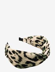 PIPOL'S BAZAAR - Afra Diadema Mix Khaki - haar accessoires - multi - 0